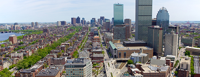 LISA-Sprachreisen-Englisch-Boston-Campus-Skyline-Hochhaeuser-Aussicht-Panorama-harvard